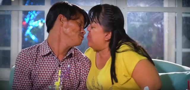 Cặp vợ chồng khuyết tật truyền cảm hứng tình yêu đến Đỗ Mỹ Linh - Ảnh 2.