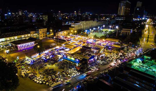 Chợ container - Điểm đến hút khách ở Phnompenh, Campuchia - Ảnh 1.