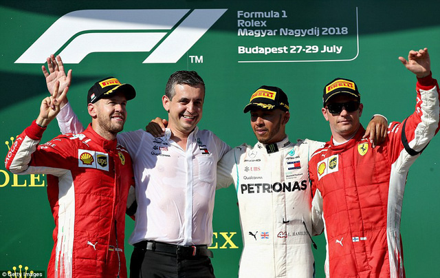 Đua xe F1: Lewis Hamilton giành chiến thắng Grand Prix Hungary - Ảnh 3.