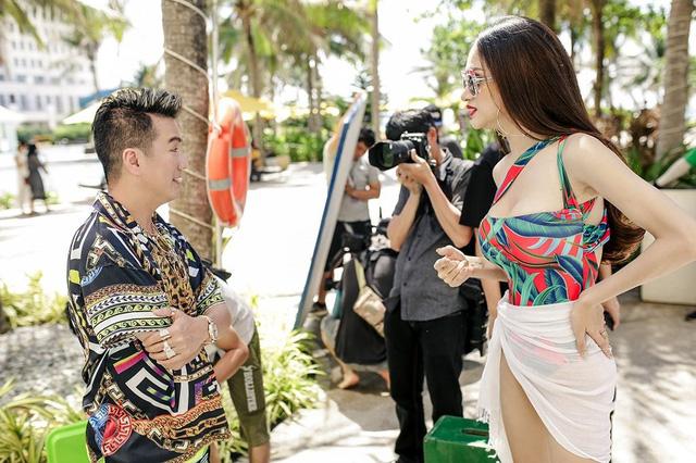 Mr Đàm sánh đôi với Hoa hậu chuyển giới quốc tế Hương Giang trong MV mới - Ảnh 4.