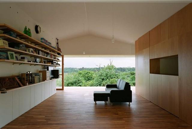 Ngôi nhà ở Nhật có thiết kế mở, gần gũi với thiên nhiên - Ảnh 6.