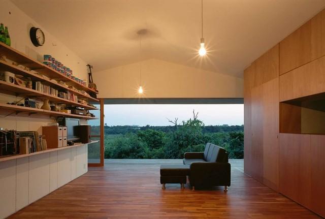 Ngôi nhà ở Nhật có thiết kế mở, gần gũi với thiên nhiên - Ảnh 7.