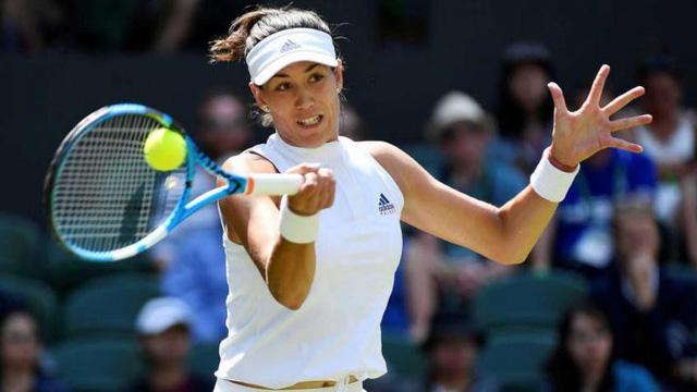 Vòng 2 đơn nữ Wimbledon: Sharapova dừng bước; Muguruza, Halep đi tiếp - Ảnh 1.
