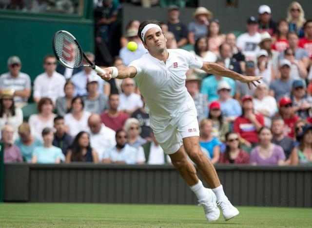 Federer hủy diệt Lacko tại vòng 2 Wimbledon 2018 - Ảnh 1.