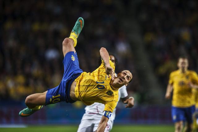 Nhận lời chúc từ Ibrahimovic, ĐT Thụy Điển tự tin - Ảnh 2.