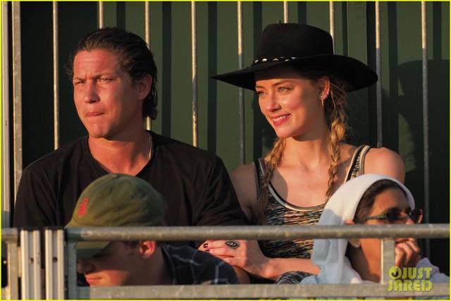 Vợ cũ của Johnny Depp lại có bạn trai mới - Ảnh 1.