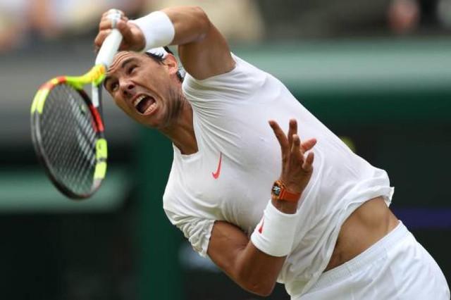 Wimbledon 2018: Thắng nhàn Minaur, Nadal xây chắc ngôi số 1 thế giới - Ảnh 3.