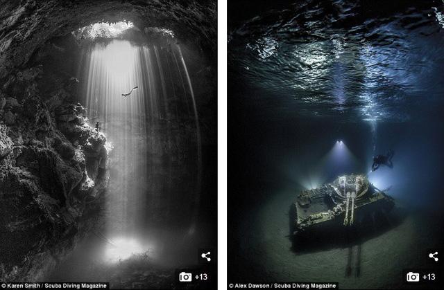 """Những bức ảnh chụp dưới nước đẹp """"ngộp thở"""" - Ảnh 9."""