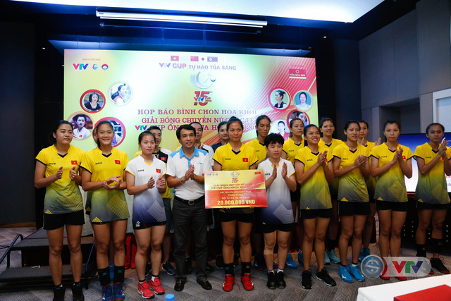 VTV Cup Ống nhựa Hoa Sen 2018: ĐT Việt Nam nhận thưởng 200 triệu đồng trước trận chung kết - Ảnh 6.