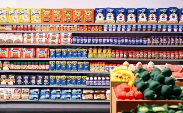 Độc đáo siêu thị với đồ vật toàn làm bằng vải nỉ - Ảnh 7.