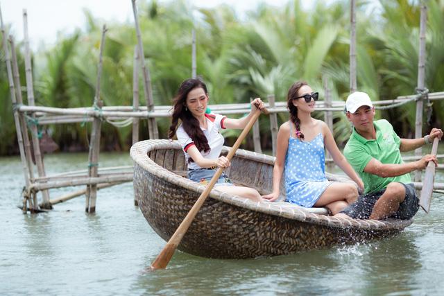 Top 4 Hoa hậu Đại sứ Du lịch thế giới 2018 quảng bá du lịch Hội An - Ảnh 3.