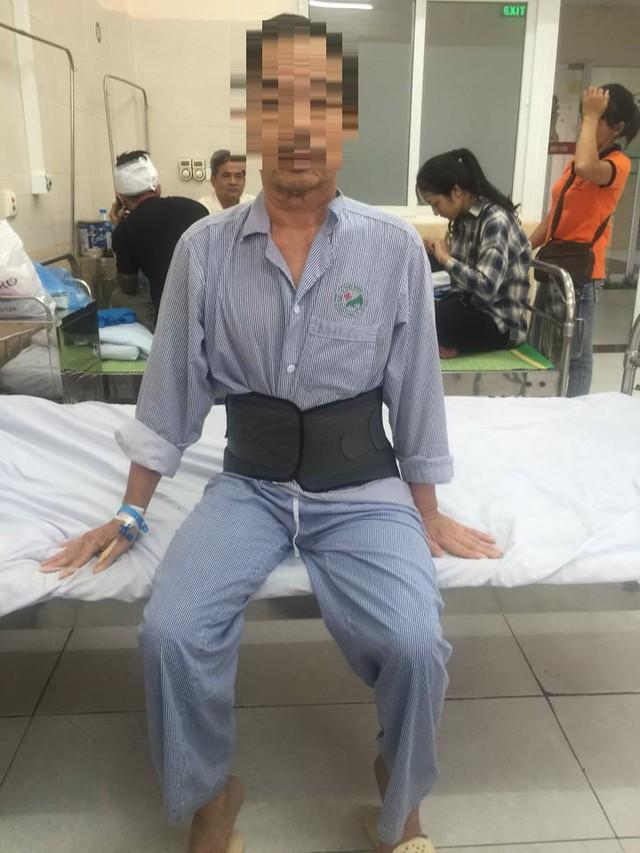 Thoát cảnh liệt giường nhờ phẫu thuật lấy nhân thoát vị đĩa đệm đa tầng - Ảnh 1.