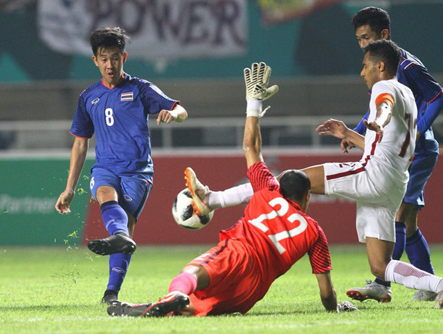 Kết quả ngày thi đấu 14/8 bóng đá nam ASIAD 18: Nhật Bản thắng nhọc Nepal, Thái Lan hòa Qatar - Ảnh 1.