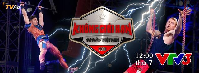 Không giới hạn - Sasuke Việt Nam mùa 4 chính thức lên sóng VTV3 trong khung giờ mới - Ảnh 1.