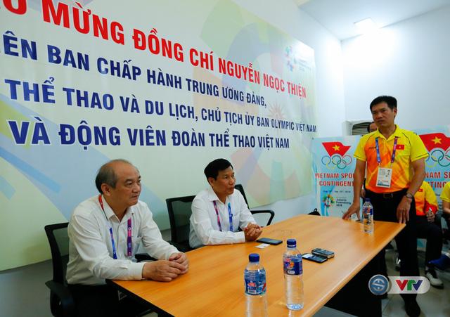 Bộ trưởng Bộ VHTT&DL Nguyễn Ngọc Thiện gửi lời động viên tới các VĐV dự ASIAD 2018 - Ảnh 3.