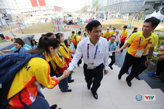 Bộ trưởng Bộ VHTT&DL Nguyễn Ngọc Thiện gửi lời động viên tới các VĐV dự ASIAD 2018 - Ảnh 2.