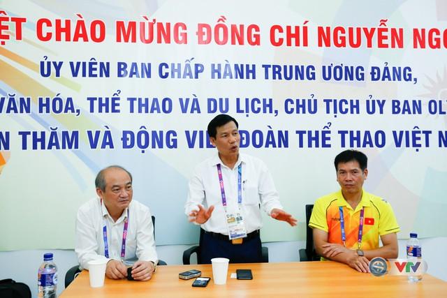Bộ trưởng Bộ VHTT&DL Nguyễn Ngọc Thiện gửi lời động viên tới các VĐV dự ASIAD 2018 - Ảnh 5.