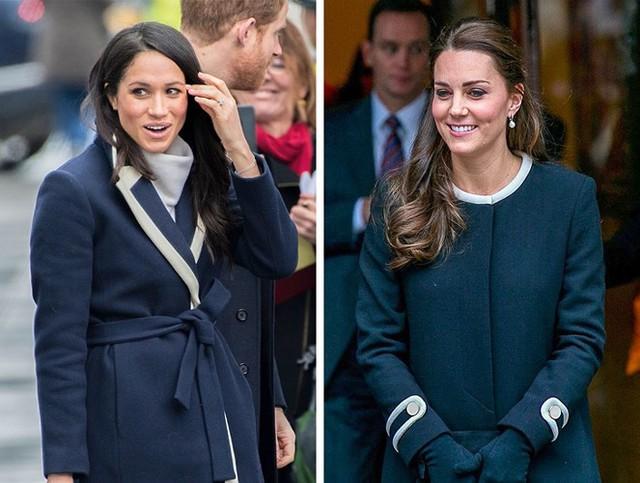 Học lỏm bí quyết thời trang sành điệu của hai nàng dâu Hoàng gia Anh - Ảnh 7.