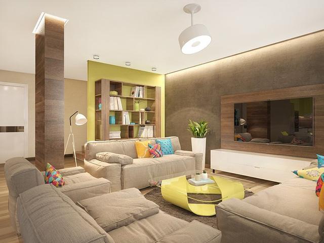 Ngôi nhà rực rỡ sắc màu của người yêu phong cách nhiệt đới - Ảnh 1.