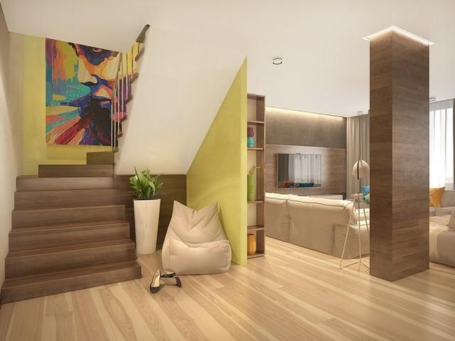 Ngôi nhà rực rỡ sắc màu của người yêu phong cách nhiệt đới - Ảnh 4.