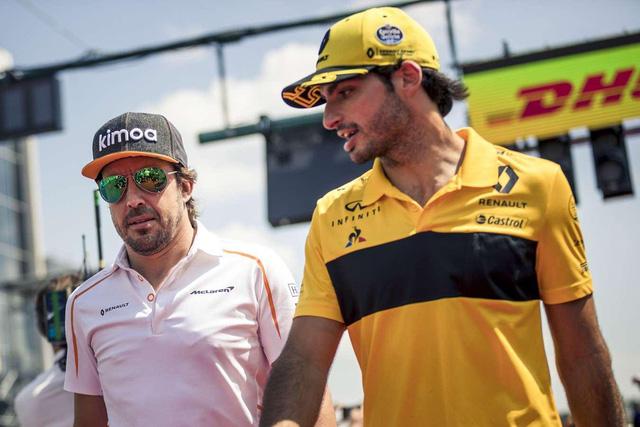 Đua xe F1: Carlos Sainz Jr chuyển sang McLaren vào mùa giải 2019 - Ảnh 1.
