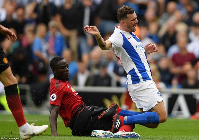 VIDEO Brighton 3-2 Man Utd: Quỷ đỏ thua trận đầu tiên mùa giải - Ảnh 3.
