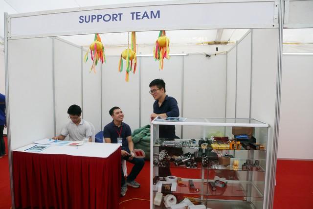 ABU Robocon 2018: Ngày đầu của các đội tuyển tại khu tập kết robot - Ảnh 8.