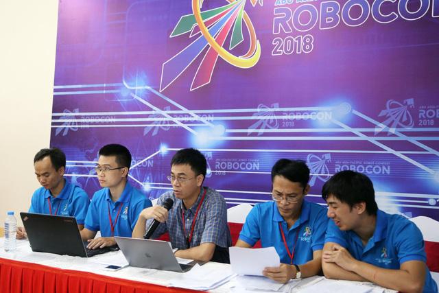 Kết quả bốc thăm chia bảng ABU Robocon 2018 - Ảnh 32.