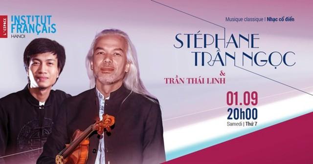 Nghệ sĩ violon Stéphane Trần Ngọc mang âm nhạc Pháp đến Hà Nội - Ảnh 2.
