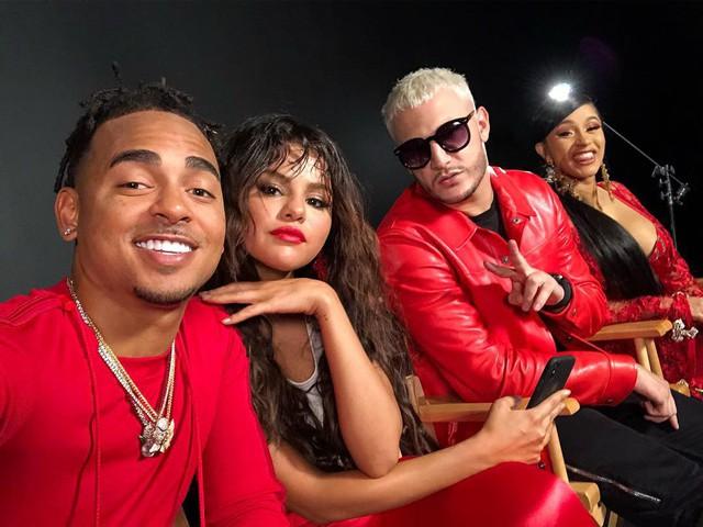 Cardi B bí mật hợp tác cùng Selena Gomez - Ảnh 2.