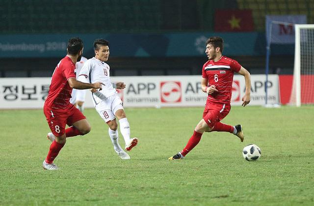Olympic Việt Nam áp đảo ở ĐHTB bóng đá nam ASIAD 2018 - Ảnh 2.