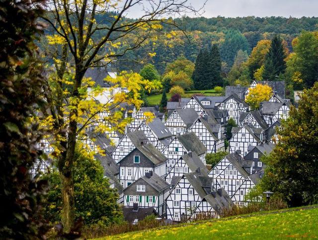 """Đến thị trấn """"trăm căn nhà giống nhau như một"""", hoa mắt nhìn mãi không ra - Ảnh 4."""