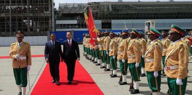 Chuyến thăm cấp Nhà nước đến Ethiopia và Ai Cập của Chủ tịch nước thành công rất tốt đẹp - Ảnh 1.