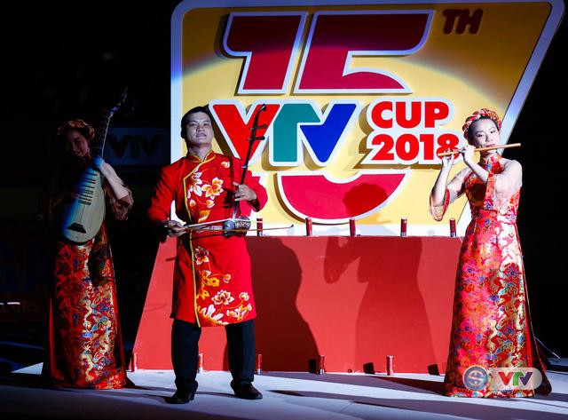 Ảnh: Những khoảnh khắc ấn tượng trong Lễ khai mạc Giải bóng chuyền nữ Quốc tế VTV Cup Ống nhựa Hoa Sen 2018 - Ảnh 2.