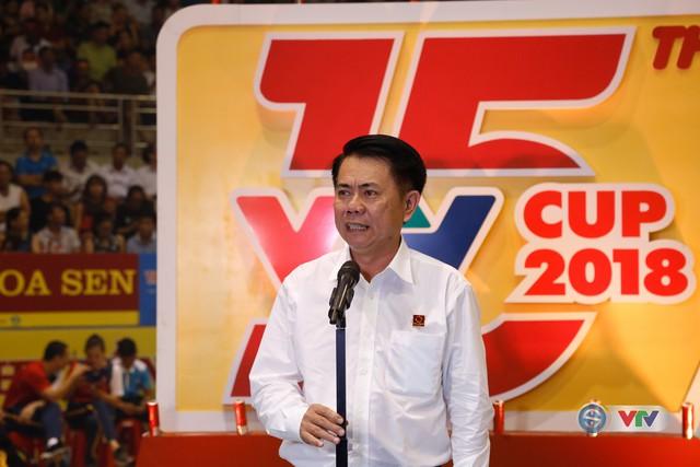 Ảnh: Những khoảnh khắc ấn tượng trong Lễ khai mạc Giải bóng chuyền nữ Quốc tế VTV Cup Ống nhựa Hoa Sen 2018 - Ảnh 15.