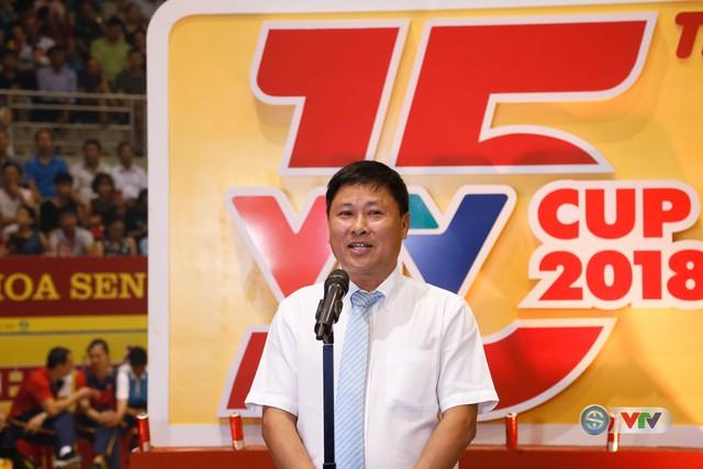 Ảnh: Những khoảnh khắc ấn tượng trong Lễ khai mạc Giải bóng chuyền nữ Quốc tế VTV Cup Ống nhựa Hoa Sen 2018 - Ảnh 16.