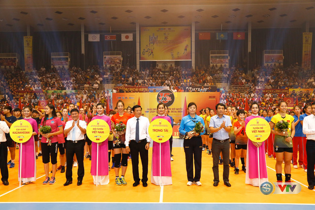 Ảnh: Những khoảnh khắc ấn tượng trong Lễ khai mạc Giải bóng chuyền nữ Quốc tế VTV Cup Ống nhựa Hoa Sen 2018 - Ảnh 19.