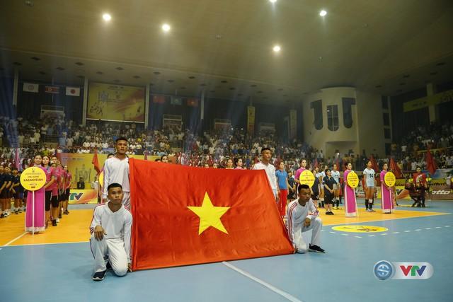 Ảnh: Những khoảnh khắc ấn tượng trong Lễ khai mạc Giải bóng chuyền nữ Quốc tế VTV Cup Ống nhựa Hoa Sen 2018 - Ảnh 13.