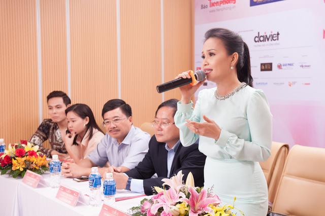Vợ chồng Cẩm Ly làm giám khảo vòng sơ khảo tài năng Hoa hậu Việt Nam 2018 - Ảnh 2.