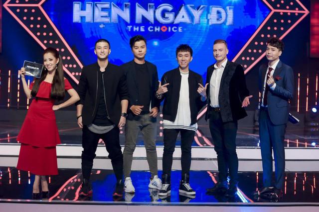 Huỳnh Anh chọn được gái xinh nhảy đẹp tại chương trình Hẹn ngay đi - Ảnh 1.