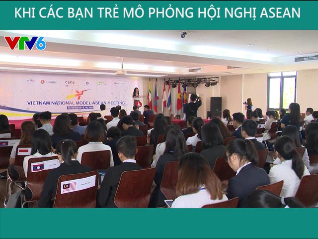 Khi người trẻ mô phỏng hội nghị ASEAN - Ảnh 3.