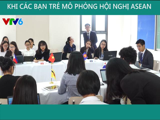 Khi người trẻ mô phỏng hội nghị ASEAN - Ảnh 2.