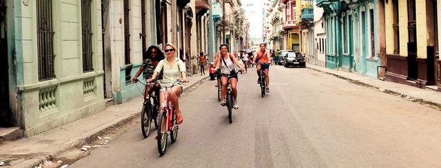 Xe đạp đang quay lại với cuộc sống của người dân Cuba - Ảnh 1.