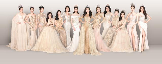 Ngắm trọn bộ ảnh 14 Hoa hậu Việt Nam hội tụ sau 30 năm