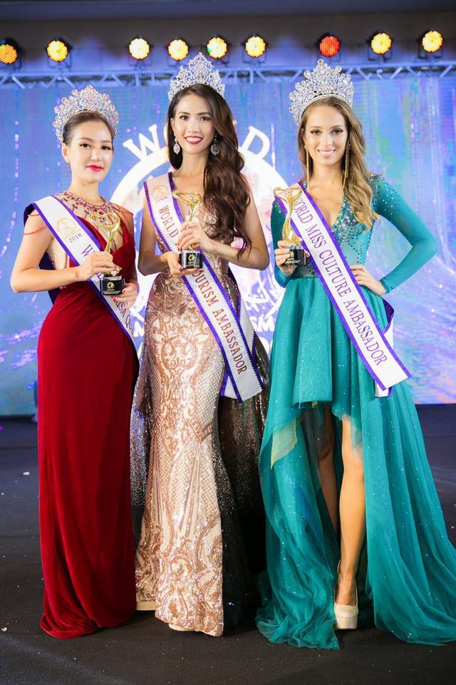 Phan Thị Mơ xuất sắc đăng quang Hoa hậu Đại sứ Du lịch thế giới 2018 - Ảnh 6.