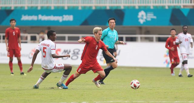 ẢNH: Olympic Việt Nam giành vị trí thứ 4 tại ASIAD khi để thua Olympic UAE trong loạt đá luân lưu - Ảnh 9.