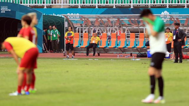 ẢNH: Olympic Việt Nam giành vị trí thứ 4 tại ASIAD khi để thua Olympic UAE trong loạt đá luân lưu - Ảnh 11.