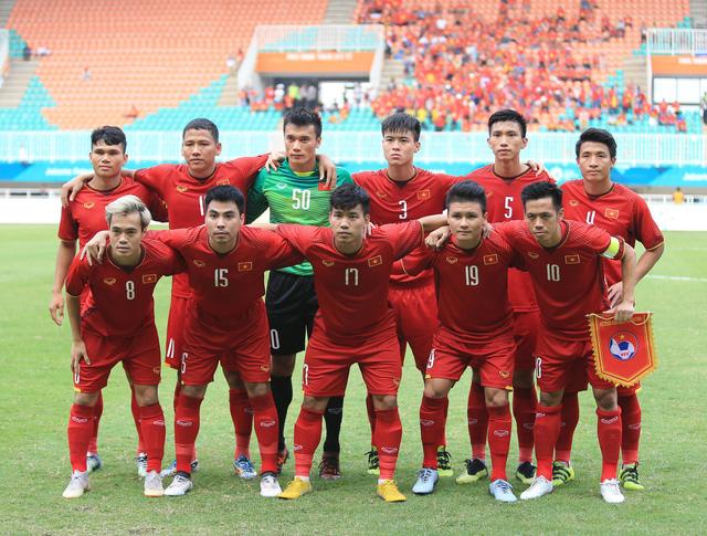 ẢNH: Olympic Việt Nam giành vị trí thứ 4 tại ASIAD khi để thua Olympic UAE trong loạt đá luân lưu - Ảnh 3.