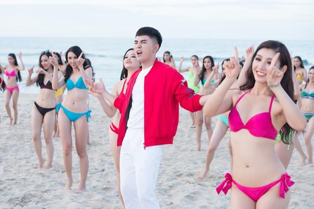 Thí sinh Hoa hậu Việt Nam 2018 nóng bỏng hết cỡ trong MV trước đêm chung kết - Ảnh 5.