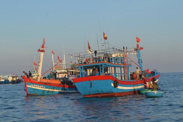 Đi chợ cá trên đảo Lý Sơn - Ảnh 2.